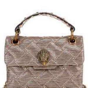 KURT GEIGER Mini Kensington Quilted Crossbody Bag